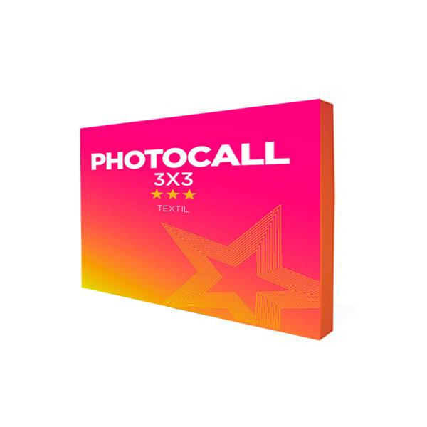 comprar photocall textil 3x3