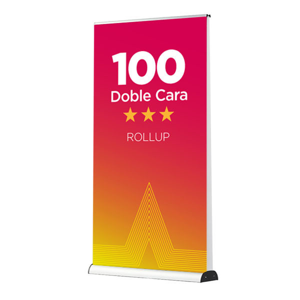 comprar roll up 100 doble cara