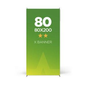 comprar x banner 80